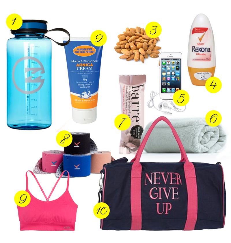 Aerial gym bag essentials fitness to free